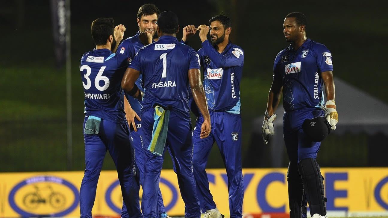 Latest Match Report – Stallions vs Gladiators LPL Final 2020 'Thisara Played Hammered Knock 39 off 14 balls