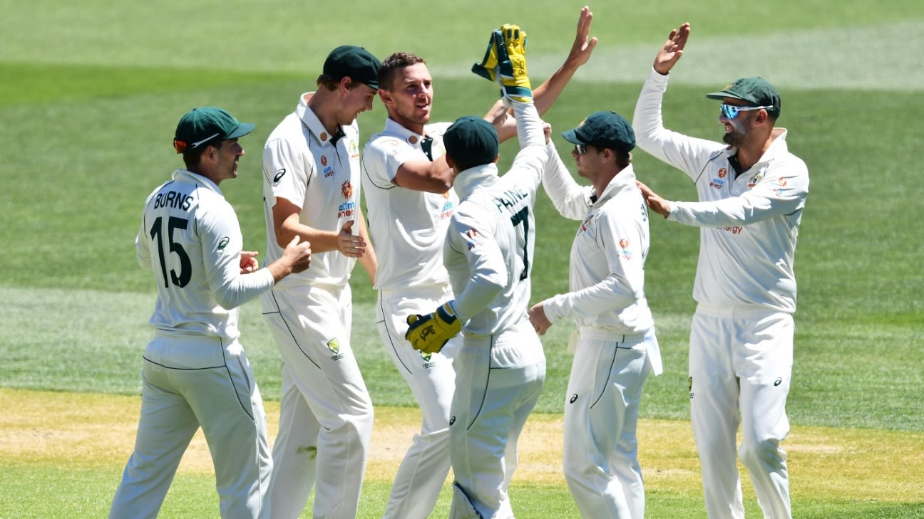 Full Scorecard of India vs Australia 1st Test 2020/21 - Score Report | ESPNcricinfo.com