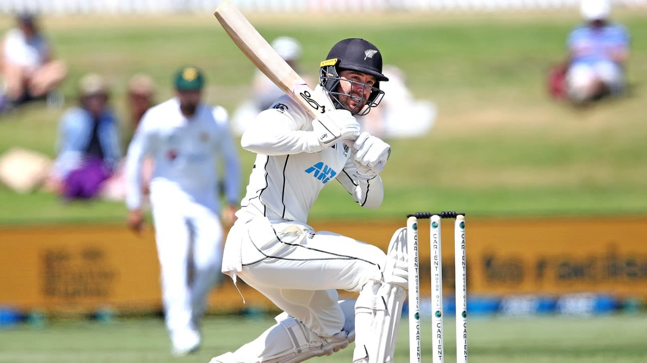 Latest Match Update- New Zealand vs Pakistan 1st Test 2020, Tom Blundell and Tom Latham stretched New Zealand's lead to 290 during first session on day four