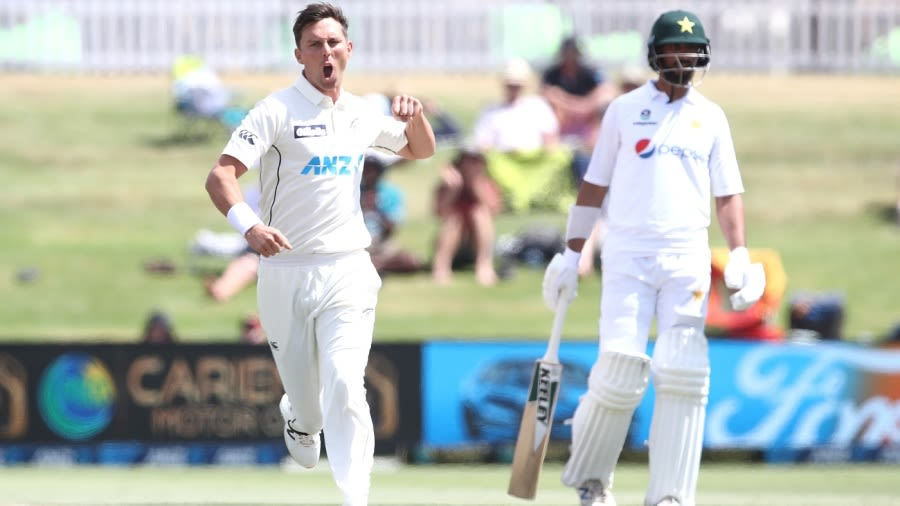 Trent Boult is likely to miss both Tests against England before playing the WTC final against India Getty Images