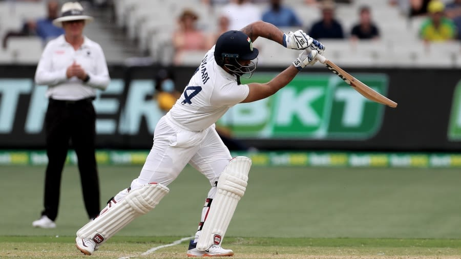 Aus vs Ind - Test series - Hanuma Vihari is about the steel and the purpose  and not numbers alone