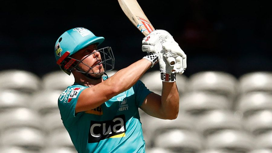 Chris Lynn is the leading run-scorer in BBL history Getty Images