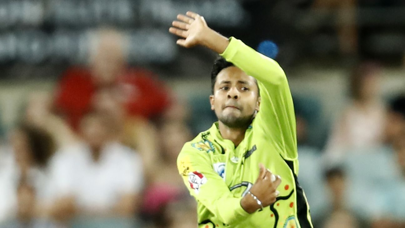 Tanveer Sangha could make New South Wales debut in one-day final