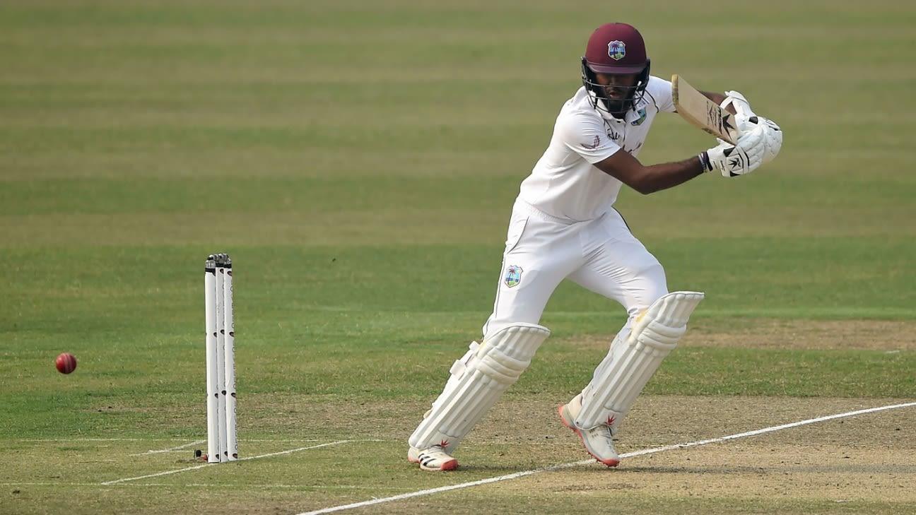 Kraigg Brathwaite replaces Jason Holder as West Indies Test captain - ESPNcricinfo