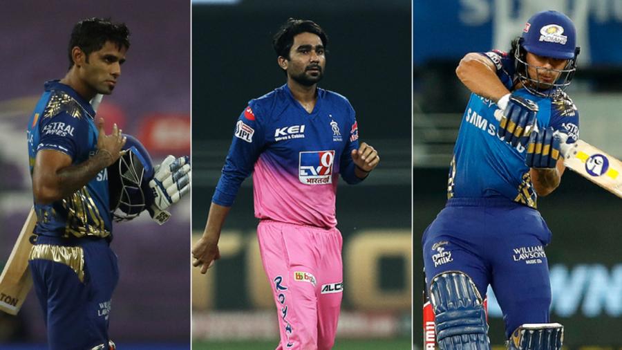Three of IPL 2020's best performers Suryakumar Yadav, Ishan Kishan and Rahul Tewatia have made the step up for India ESPNcricinfo Ltd