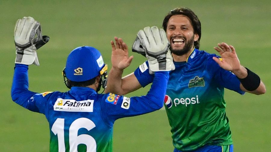 Shahid Afridi suggested he may finally call it a day AFP/Getty Images