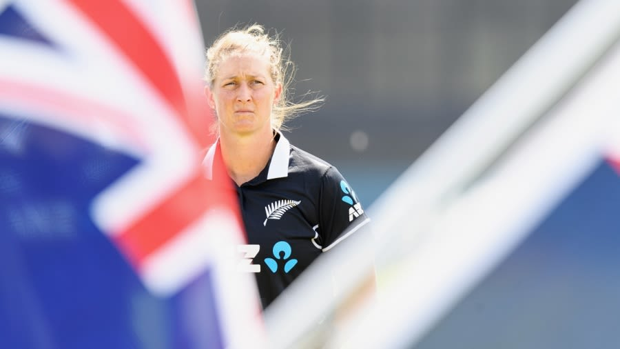 Sophie Devine has been playing since the end of September when New Zealand toured Australia Kai Schwoerer/Getty Images