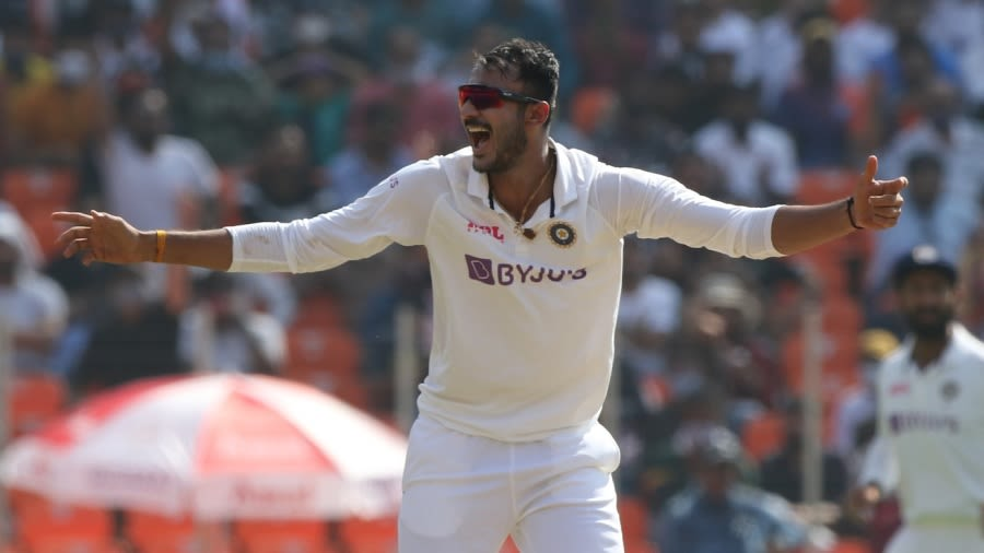 Ind vs Eng - 3rd Test - Ahmedabad - Axar Patel's success comes from going  straight and under-cutting