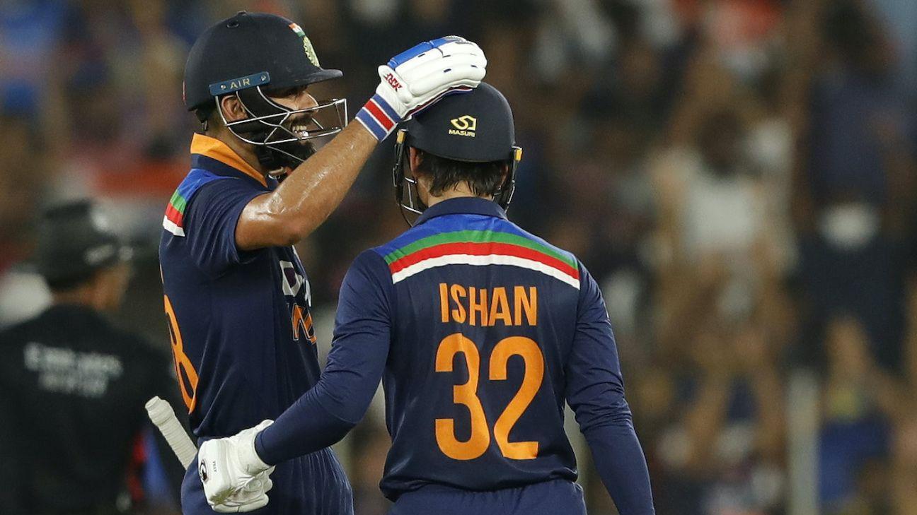 Blazing fifties from Kishan, Kohli power India to 1-1
