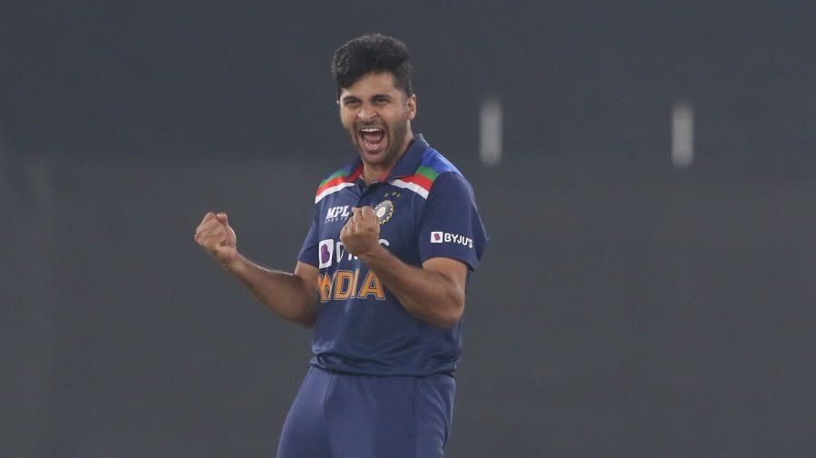 India vs England - T20I series - Shardul Thakur's evolution into India's  canny white-ball option