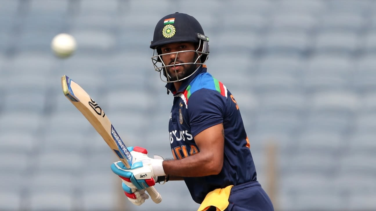 Shikhar Dhawan to lead India on limited-overs tour of Sri Lanka