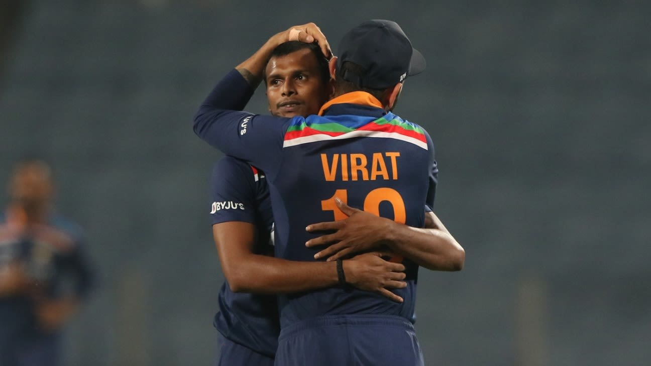 Sam Curran falls short as India clinch cliffhanger to seal ODI series