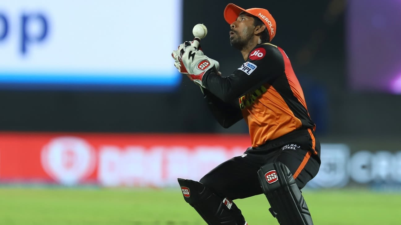 Sunrisers Hyderabad's Wriddhiman Saha tests positive for Covid-19