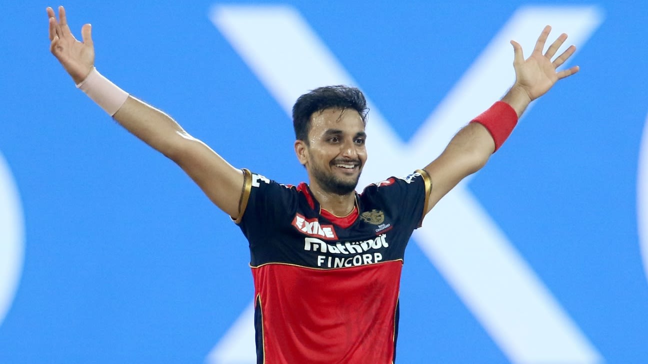 Being RCB's designated death bowler 'a privilege and a positive' for Harshal Patel