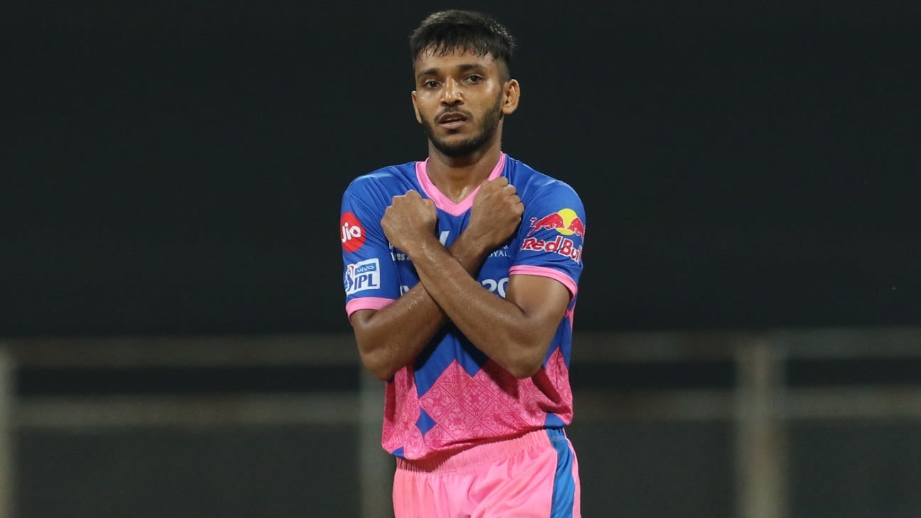 Rajasthan Royals fast bowler Chetan Sakariya loses his father to Covid-19