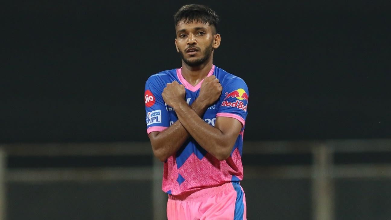 Rajasthan Royals fast bowler Chetan Sakariya loses his father to Covid-19