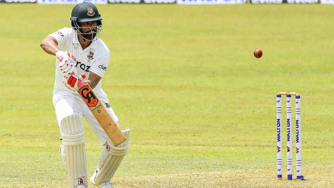 Latest Match Update – Bangladesh vs Sri Lanka 1st Test 2021 'Bangladesh reached 252/2 with the help of Najmul Hossain Shanto Century