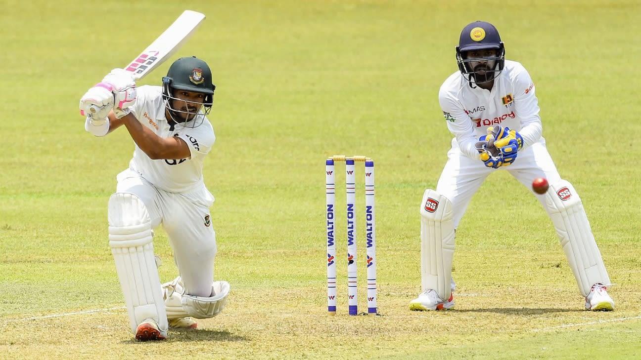 Najmul Hossain Shanto: 'I believed in myself to score big runs'
