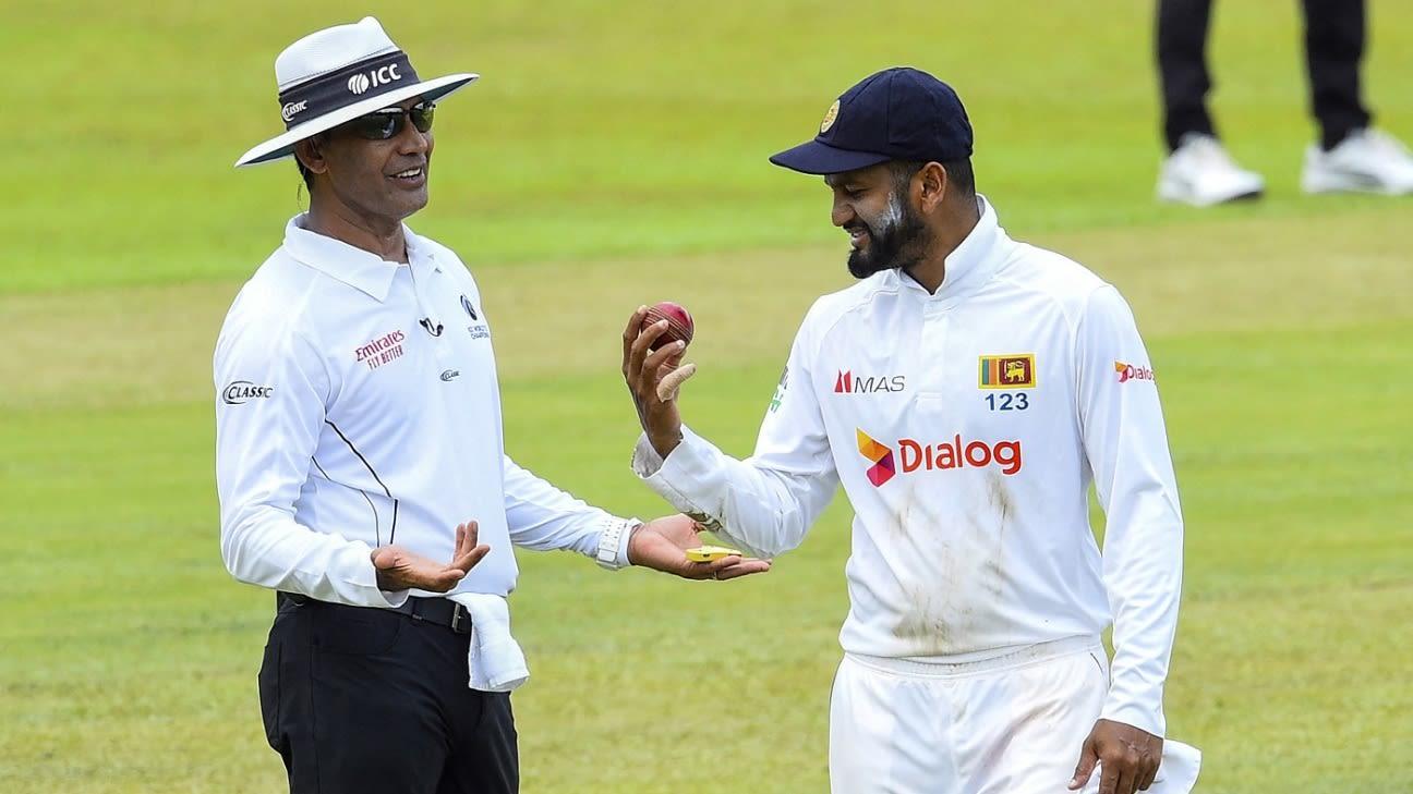 1st Test SL vs Ban 1st Day