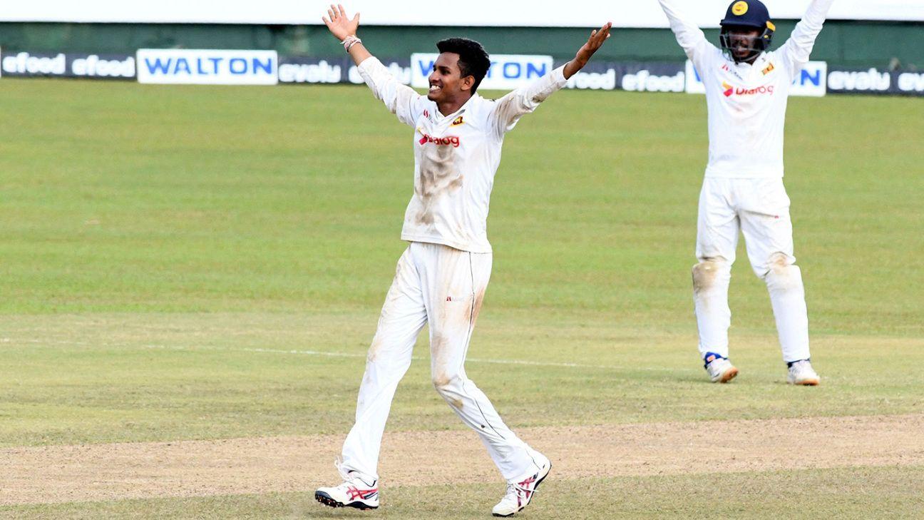 Praveen Jayawickrama's stunning debut seals Sri Lanka's dominant victory