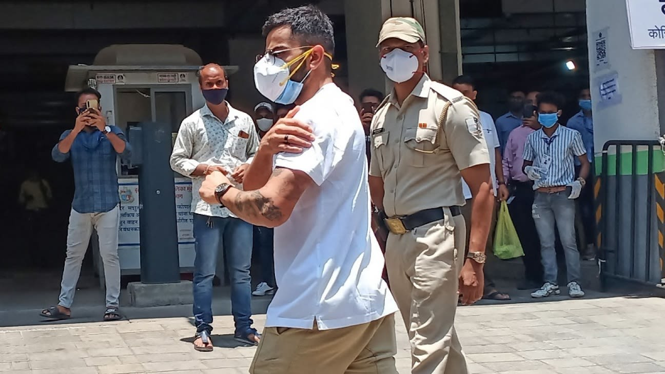 Virat Kohli and other India players take first jab of Covid-19 vaccination