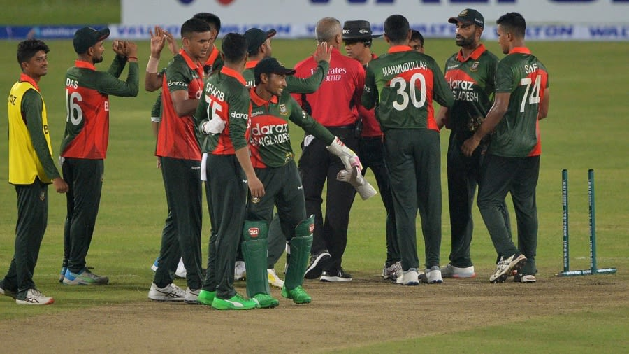 Bangladesh have lost five out of seven away ODI series since April 2015 AFP/Getty Images