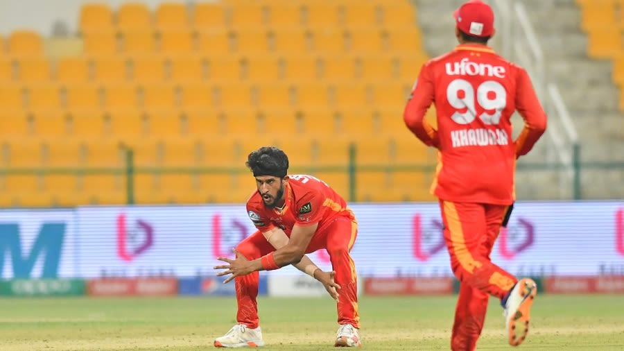 Hasan Ali came in clutch for Islamabad United Pakistan Super League