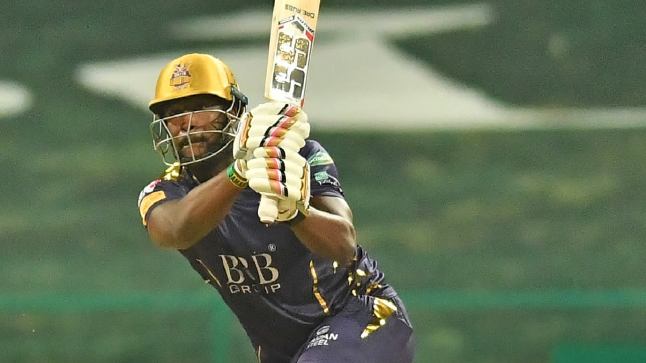 Andre Russell hit on helmet, substituted by Naseem Shah mid-way through PSL game