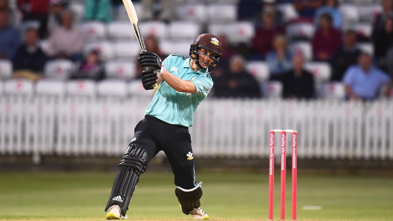 Sam Curran reaches the next level as Surrey show their full strut