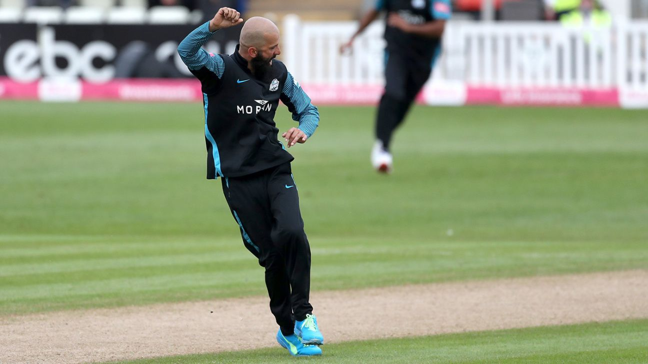 Moeen Ali stars with bat and ball as Worcestershire breeze to victory
