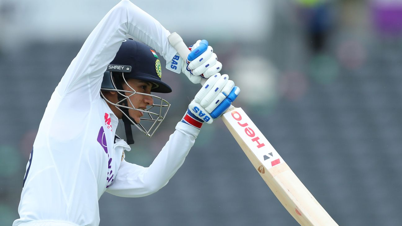Smriti Mandhana: More Test experience will help avoid late-session collapses