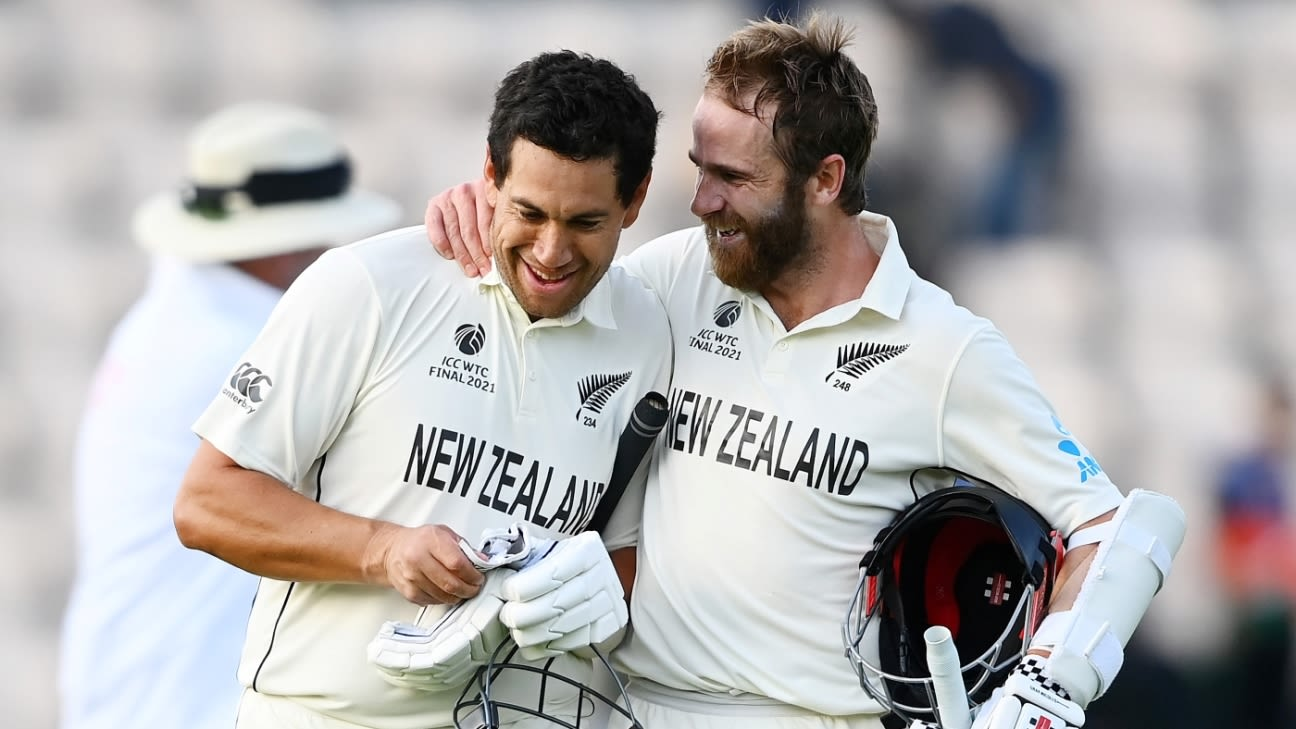 New Zealand beat India New Zealand won by 8 wickets - India vs New Zealand,  ICC World Test Championship, Final Match Summary, Report | ESPNcricinfo.com