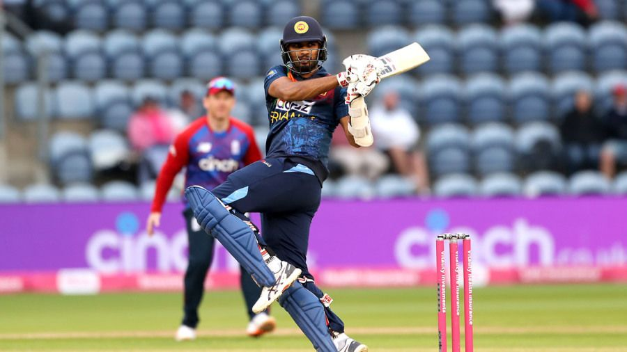 Sri Lanka's Dasun Shanaka was among the first to agree to sign Sri Lanka Cricket's tour contracts for India series PA Images via Getty Images