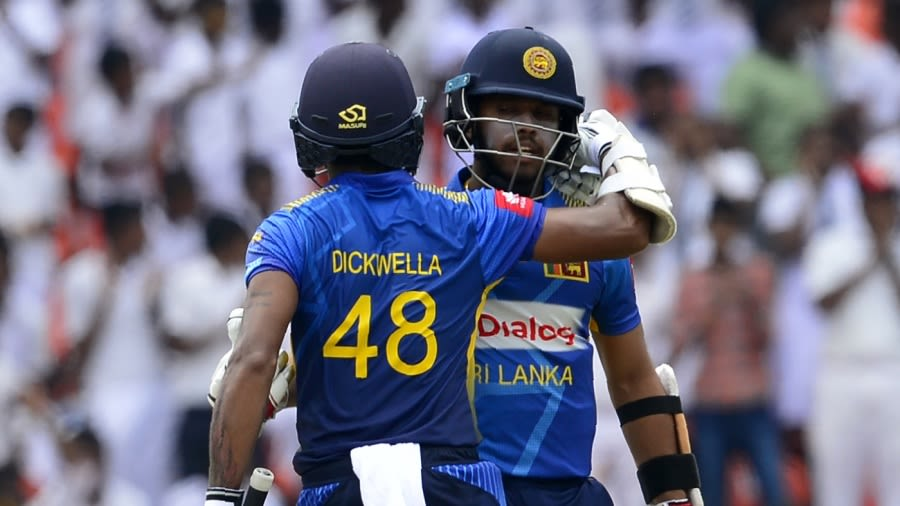 Kusal Mendis and Niroshan Dickwella are two of three cricketers to be penalised AFP/Getty Images