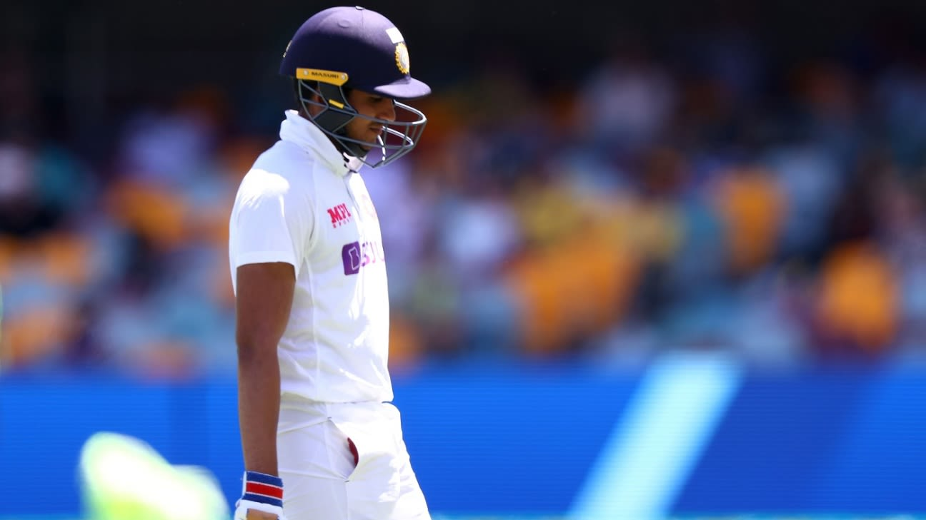 Stress injury in left leg puts Gill in doubt for England Test series thumbnail