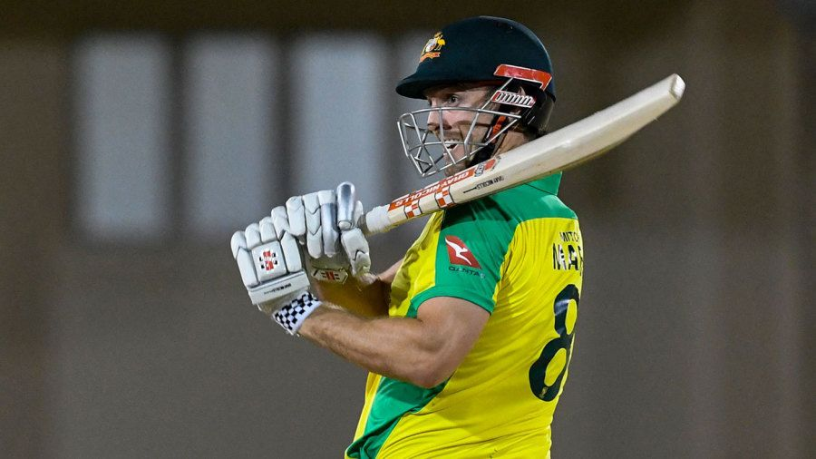 Mitchell Marsh starred with bat and ball Getty Images