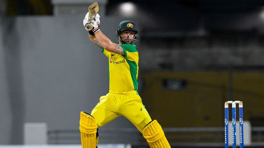 Matthew Wade guided Australia's chase home AFP
