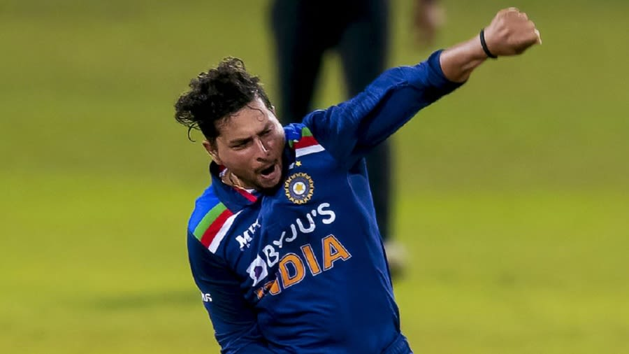 Kuldeep Yadav's bowling was particularly impressive in the second T20I given the low total India were defending Ishara S.Kodikara/AFP/Getty Images