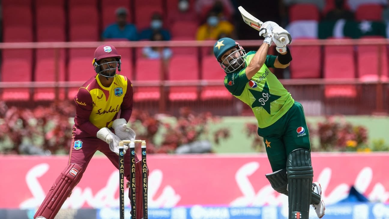 West Indies and Pakistan at the mercy of weather as stop-start T20I series reaches its finale