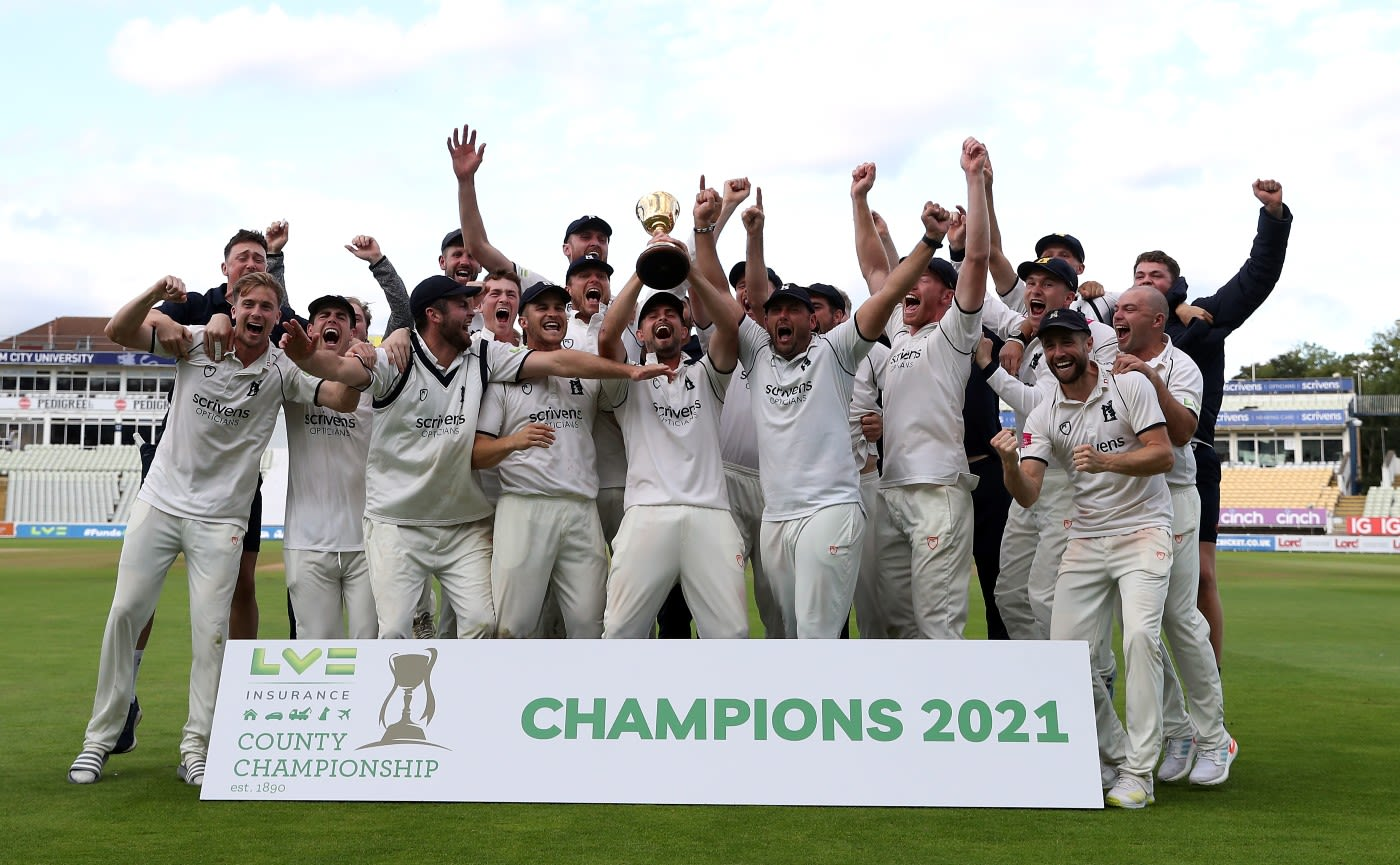 County Championship to return to two divisions from 2022
